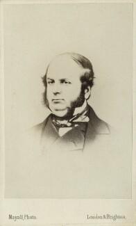 Henry Thomas Buckle, by John Jabez Edwin Mayall - NPG Ax17823