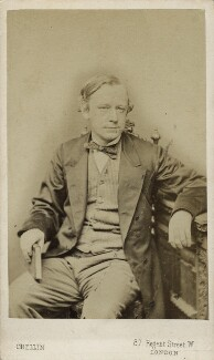 Sir John Robert Seeley, by Philip Crellin Jr - NPG Ax17824