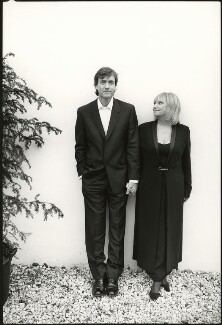 Richard Madeley; Judy Finnigan, by Harry Borden - NPG x128145