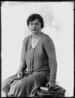 Lady Ellen Millicent Louise Sharip (née Montagu), by Bassano Ltd - NPG x124718