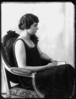 Lady Ellen Millicent Louise Sharip (née Montagu), by Bassano Ltd - NPG x124720