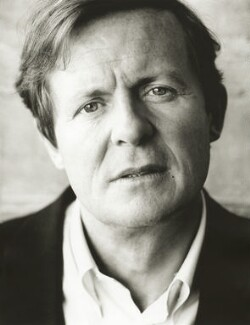 Sir David Hare, by Harry Borden - NPG x128151