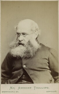 Anthony Trollope, by London Stereoscopic & Photographic Company - NPG Ax17828