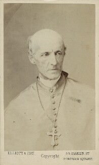 Henry Edward Manning, by Elliott & Fry - NPG Ax17842