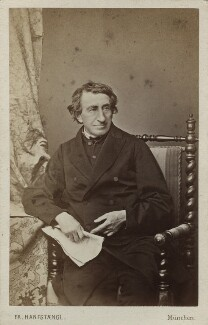 Johann Joseph Ignaz von Döllinger, by Franz Hanfstaengl - NPG Ax17843
