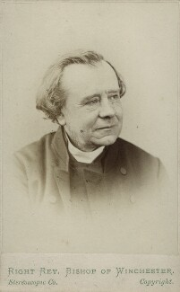 Samuel Wilberforce, by London Stereoscopic & Photographic Company, 1860s - NPG Ax17845 - © National Portrait Gallery, London