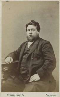 Charles Haddon Spurgeon, by London Stereoscopic & Photographic Company - NPG Ax17849