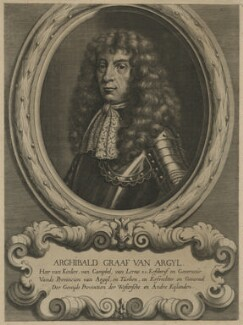 Archibald Campbell, 9th Earl of Argyll, by Adriaen Haelwegh, after  Unknown artist - NPG D21418