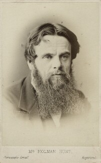 William Holman Hunt, by London Stereoscopic & Photographic Company - NPG Ax17858