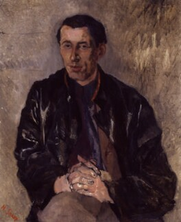 (Frederick) Louis MacNeice, by Nancy Culliford Spender (née Sharp) - NPG 6628