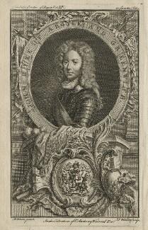 John Campbell, 2nd Duke of Argyll and Greenwich, by John Sebastian Miller (formerly Johann Sebastian Müller), after  William Aikman - NPG D21421