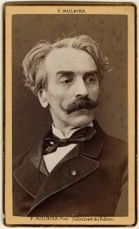 Jean-Léon Gérôme, by Ferdinand Mulnier, late 1870s - NPG Ax17864 - © National Portrait Gallery, London