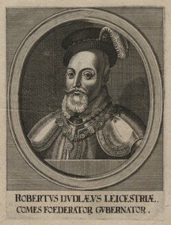 Robert Dudley, 1st Earl of Leicester, by Unknown artist - NPG D21437