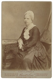 Frances Mary Buss, by James Russell & Sons, circa 1875 - NPG P719 - © National Portrait Gallery, London