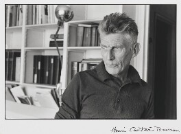 Samuel Beckett, by Henri Cartier-Bresson, 1964 - NPG  - © Henri Cartier-Bresson / Magnum Photos