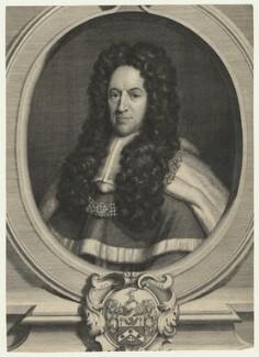 Peter King, 1st Baron King of Ockham, by George Vertue, 1724 - NPG D21435 - © National Portrait Gallery, London