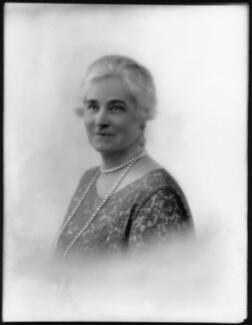 Louisa Jane (née Collins), Lady Chaytor, by Bassano Ltd - NPG x124784