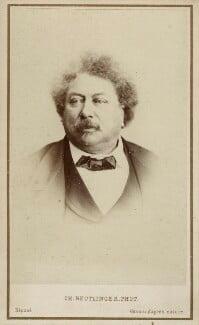 Alexandre Dumas, by Charles Reutlinger - NPG Ax17889