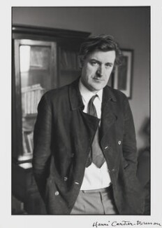 Ted Hughes, by Henri Cartier-Bresson, 1971 - NPG P726 - © Henri Cartier-Bresson / Magnum Photos