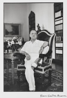 Somerset Maugham, by Henri Cartier-Bresson - NPG P727