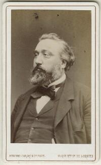 Léon Gambetta, by Carjat & Co (Etienne Carjat) - NPG Ax17900
