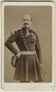 Louis Jules Trochu, by Braun & Co (Adolphe Braun) - NPG Ax17908