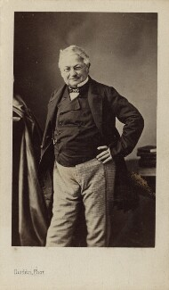 Louis Adolphe Thiers, by Disdéri, circa 1860 - NPG Ax17909 - © National Portrait Gallery, London