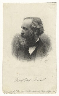 James Clerk Maxwell, by George J. Stodart, after  John Fergus - NPG D21450