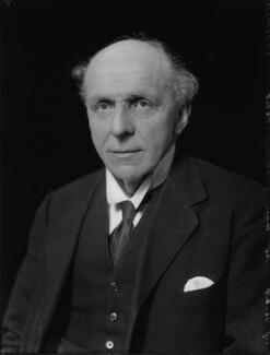 Edgar Algernon Robert Gascoyne-Cecil, 1st Viscount Cecil of Chelwood, by Bassano Ltd - NPG x124816