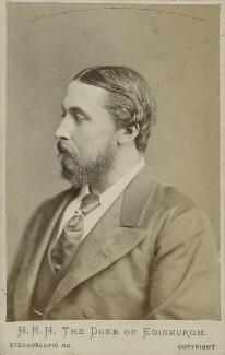 Prince Alfred, Duke of Edinburgh and Saxe-Coburg and Gotha, by London Stereoscopic & Photographic Company - NPG Ax17918