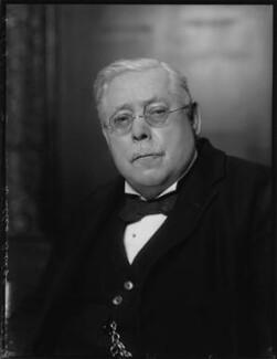 Sir Ernest Alfred Thompson Wallis Budge, by Bassano Ltd - NPG x124836