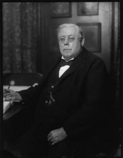 Sir Ernest Alfred Thompson Wallis Budge, by Bassano Ltd - NPG x124837