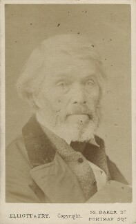 Thomas Carlyle, by Elliott & Fry - NPG Ax18216
