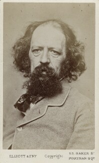 Alfred, Lord Tennyson, by Elliott & Fry - NPG Ax18220