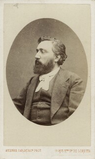 Léon Gambetta, by Carjat & Co (Etienne Carjat) - NPG Ax18238