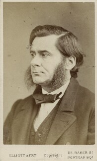 Thomas Henry Huxley, by Elliott & Fry - NPG Ax18234