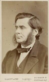 Thomas Henry Huxley, by Elliott & Fry, circa 1874 - NPG Ax18234 - © National Portrait Gallery, London