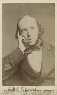 Herbert Spencer, by John Watkins - NPG Ax18203