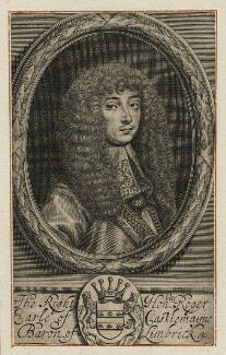 Roger Palmer, Earl of Castlemaine, by William Faithorne - NPG D21458