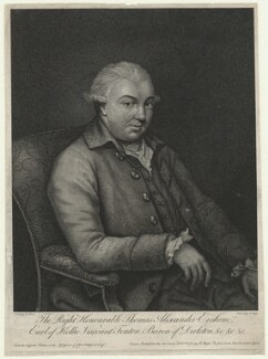 Thomas Alexander Erskine, 6th Earl of Kellie, by and published by Robert Blyth, after  Robert Home, published 1782 - NPG D21460 - © National Portrait Gallery, London