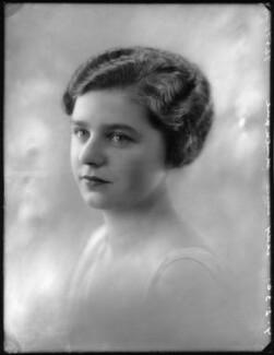 Lady Ellen Millicent Louise Sharip (née Montagu), by Bassano Ltd - NPG x124877
