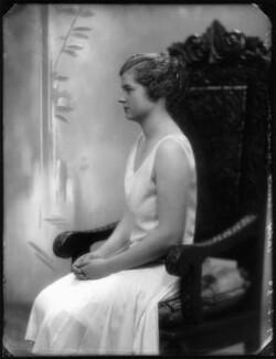 Lady Ellen Millicent Louise Sharip (née Montagu), by Bassano Ltd - NPG x124878