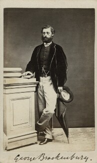 George Brackenbury, by Silbeira & Co - NPG x8366