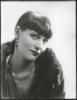 Yvonne Mertens, by Bassano Ltd - NPG x124891