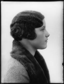 Lady Mary Sybil Dunn (née St Clair-Erskine), by Bassano Ltd - NPG x124918