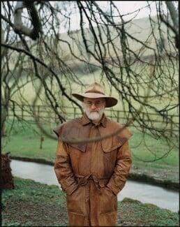 Terry Pratchett, by Harry Borden - NPG x128164