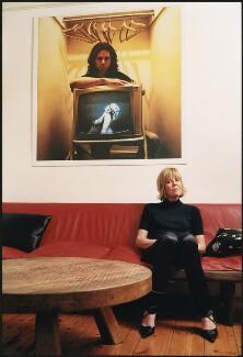 Emma Mary Soames, by Harry Borden, 8 November 2002 - NPG x128171 - © Harry Borden