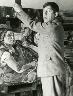 Oskar Kokoschka, by Felix H. Man - NPG x128173