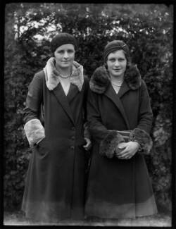 Mary Cartwright Heeley; Violet Owen (née Chamberlain), by Bassano Ltd - NPG x124923