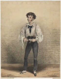 John Lee as Alfred Jingle in 'The Pickwickians', by John William Gear, printed by  Jérémie Graf - NPG D21565